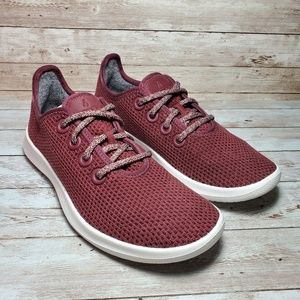 Allbirds Tree Runners Kauri Zin Burgundy Shoes
